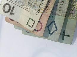zdjęcie polskich pieniędzy w zbliżeniu